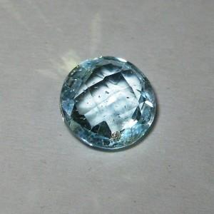 Round Buff Top Sky Topaz 3.40 carat