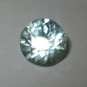 Batu Mulia Natural Aquamarine Round 9mm 2.70 carat