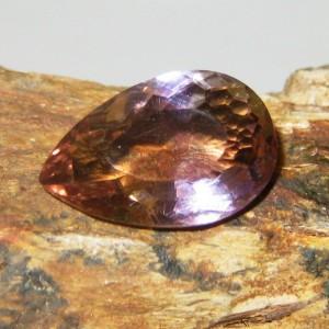 Pear Shape Ametrine 6.15 carat untuk Liontin Wanita