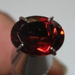 Oval Red Pyrope Garnet 1.33 carat