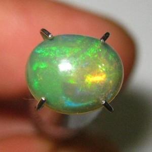 Yellowish Brown Opal 0.85 carat