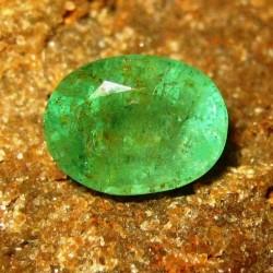 Zamrud Hijau Oval 2.50 carat