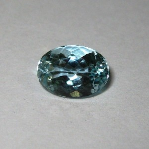 Batu Permata Natural Aquamarine 1.20 carat Oval Cut