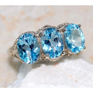 Victorian Ring Size 6 USA
