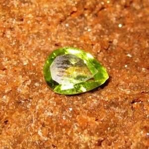 Pear Shape Peridot 1.15 carat