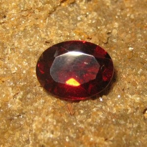 Pyrope Garnet Oval 1.48 carat