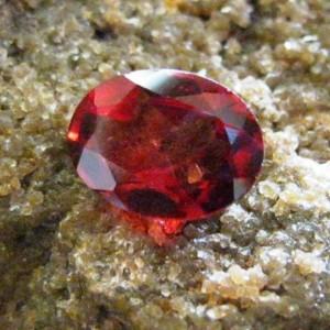 Oval Pyrope Garnet 1.31 carat