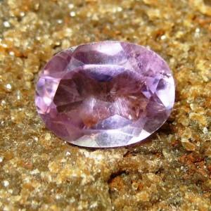 Batu Permata Natural Amethyst Oval Cut 1.60 carat
