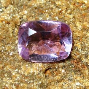 Permata Pinkish Purple Amethyst Cushion 1.80 carat