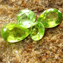 Set 4 Pcs Peridot 2.70 carat