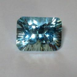 Concave Cut Sky Topaz 2.49 carat