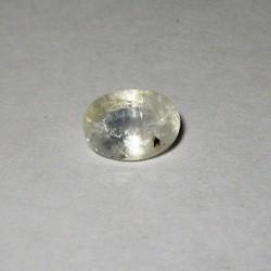 Safir Putih Oval 1.22 carat