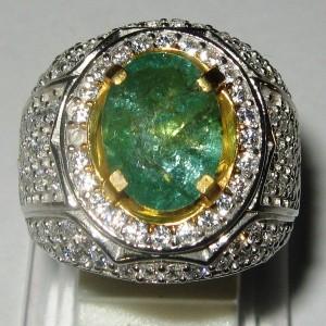 Cincin Zamrud Ring 10.5 US