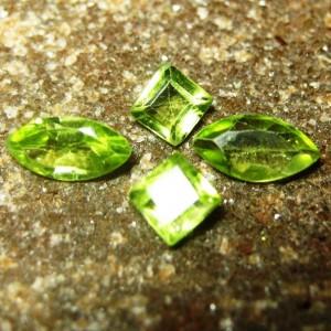 4 Pcs Set Peridot 1.75 carat