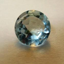 Round Sky Topaz 0.90 carat