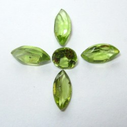 5 Pcs Set Peridot 3.15 carat
