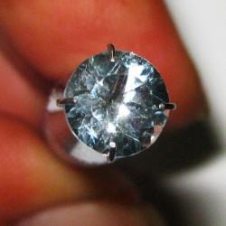Round Sky Topaz 1.60 carat