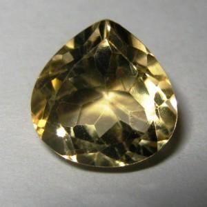 Citrine Kuning Trilian 3.60 carat
