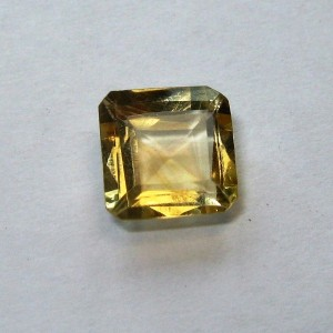 Citrine Kuning Kotak 0.90 carat