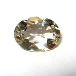 Batu Permata Citrine Kuning Oval 1.10 carat Terang