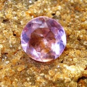 Round Amethyst 0.75 carat