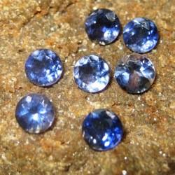 7 Pcs Round Iolite 1.95 carat