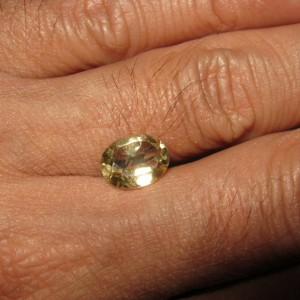 Natural Yellow Topaz 1.9cts