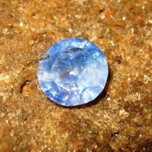 Safir Biru Round Cut 0.76 carat