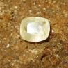 Safir Kuning Muda Kotak Imut 0.65 carat