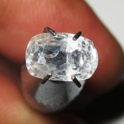 Safir Putih Cushion 1.49 carat