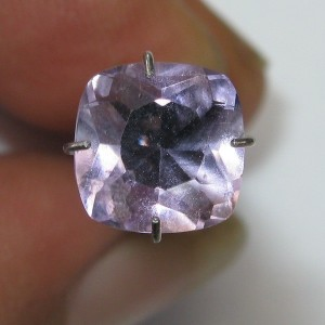 Light Purple Amethyst Cushion 1.95 carat