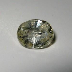 Safir Kuning Muda Terang 1.15 carat
