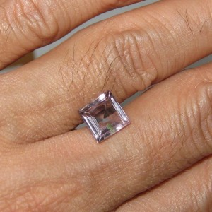 Square Violet Amethyst 2cts