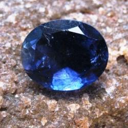 Iolite Biru Oval 2.65 carat