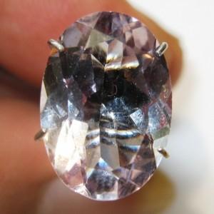 Light Purple Amethyst Oval 3.80 carat