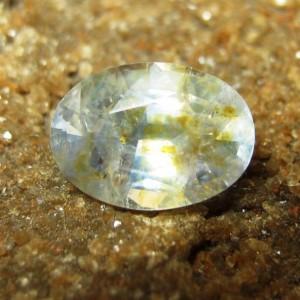 Safir Biru Muda Kekuningan 1.69 carat