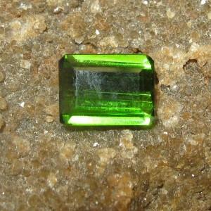 Neon Green Tourmaline 0.75 carat