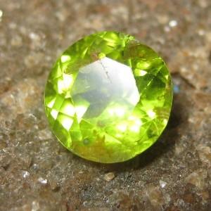 Round Cut Peridot 1.65 carat