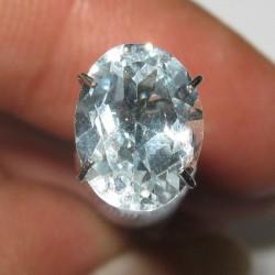 Topaz Biru Muda Bening 2.15 carat