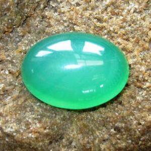 Chalcedony Hijau Pakis 12.45 carat