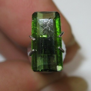 Rectangular Tourmaline 1.05 carat