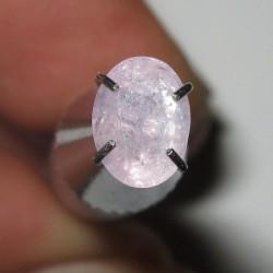 permata Safir Pink Oval 0.93 carat