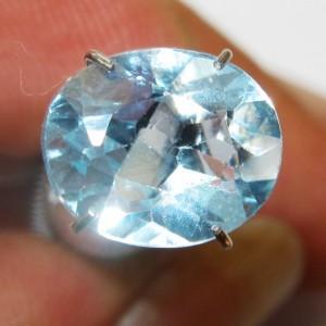 Sky Blue Topaz VS 3.10 carat