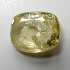 Safir Kuning Terang Cushion 1.71 carat