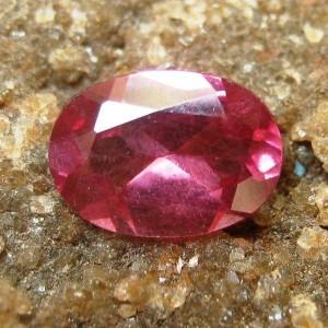 Purplish Red Garnet 0.90 carat