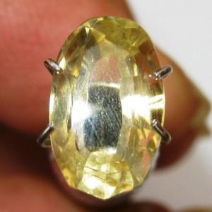 Citrine Kuning Oval Fancy 2.10 carat