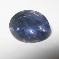 Oval Violetish Blue Iolite 1.45 carat Permata Royal Blue