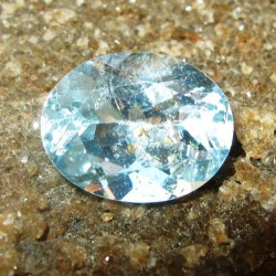 Light Sky Topaz Oval 2.50 carat
