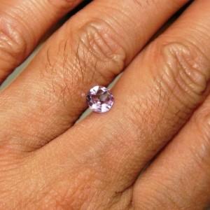 Purple Amethyst 0.4 carat