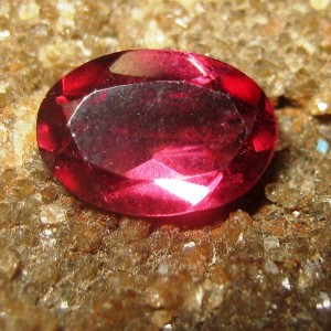 Rhodolite Garnet Purplish Red 0.75 carat